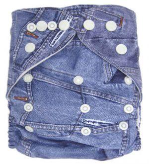 Pocketluier - Jeans blauw-0