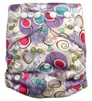 Pocketluier - Creatief paars-0