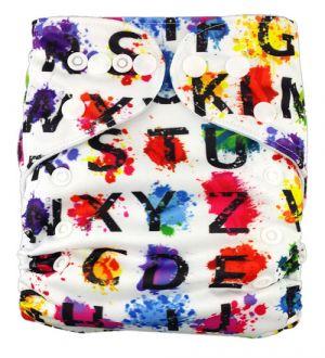 Pocketluier - Alfabet gekleurd-0