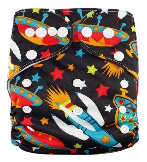 Pocketluier - Raket in de ruimte-0
