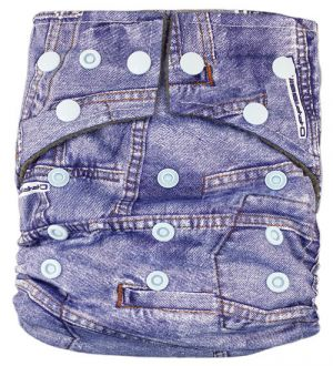 Pocketluier bamboe charcoal – Jeans-0