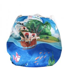 Zwemluier wasbaar Bababoe - Piraatjes - 4 -18 kg