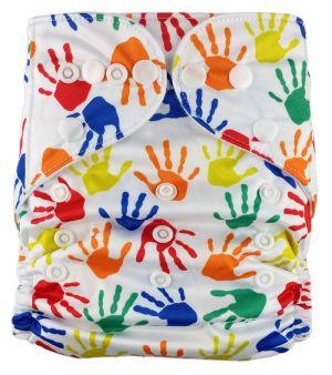 Pocketluier - Gekleurde handjes-0